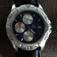 Relojes - Lotus: RELOJ CRONOGRAFO MARCA LOTUS, CORREA DE PIEL SIN ESTRENAR. Lote 45141475