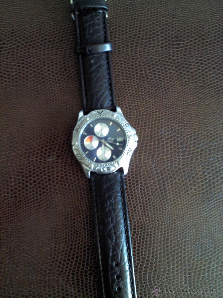 Relojes - Lotus: RELOJ CRONOGRAFO MARCA LOTUS, CORREA DE PIEL SIN ESTRENAR - Foto 3 - 45141475