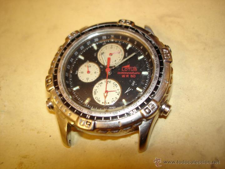 7b6b716da7f9 Lotus - w r 50 - chronograph - no funciona - Vendido en Venta ...