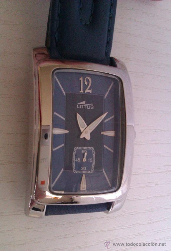BONITO Y ELEGANTE RELOJ LOTUS UNISEX MUY POCO USO PUES PROVIENE DE UNA COLECCION PRIVADA (Relojes - Relojes Actuales - Lotus)