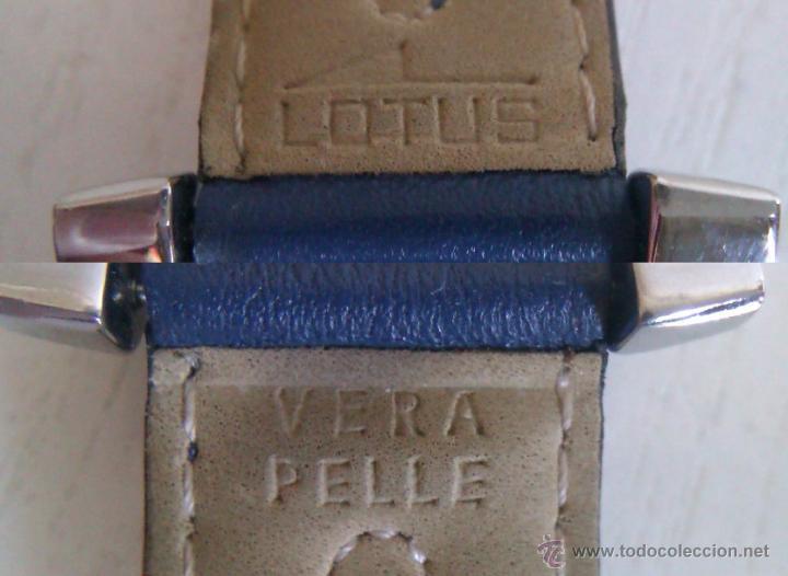Relojes - Lotus: BONITO Y ELEGANTE RELOJ LOTUS UNISEX MUY POCO USO PUES PROVIENE DE UNA COLECCION PRIVADA - Foto 4 - 47022429