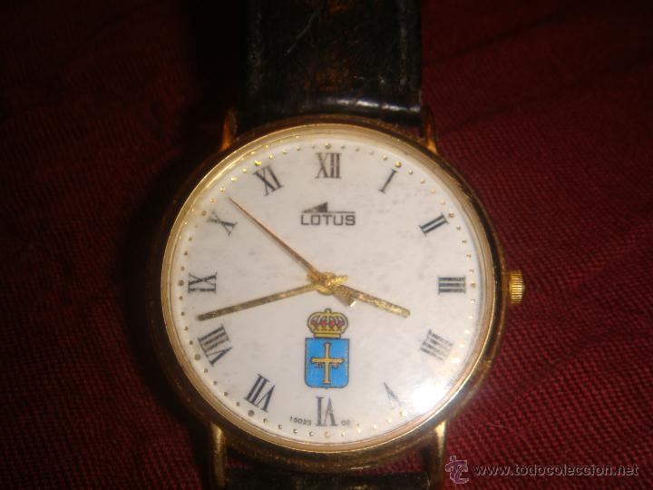 RELOJ CABALLERO LOTUS CON EL ESCUDO DEL PRINCIPADO DE ASTURIAS (Relojes - Relojes Actuales - Lotus)