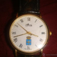 Relojes - Lotus: RELOJ CABALLERO LOTUS CON EL ESCUDO DEL PRINCIPADO DE ASTURIAS. Lote 194126167
