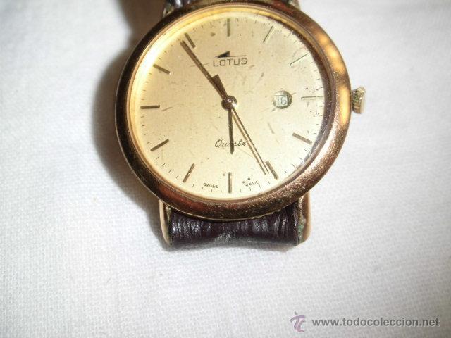 RELOJ LOTUS DE CUARZO CON CALENDARIO PARA PIEZAS NO FUNCIONA (Relojes - Relojes Actuales - Lotus)
