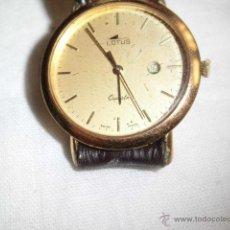 Relojes - Lotus: RELOJ LOTUS DE CUARZO CON CALENDARIO PARA PIEZAS NO FUNCIONA . Lote 48198178
