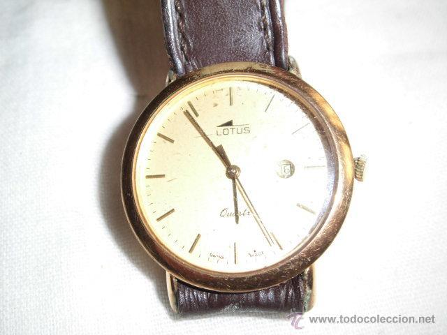 Relojes - Lotus: RELOJ LOTUS DE CUARZO CON CALENDARIO PARA PIEZAS NO FUNCIONA - Foto 2 - 48198178