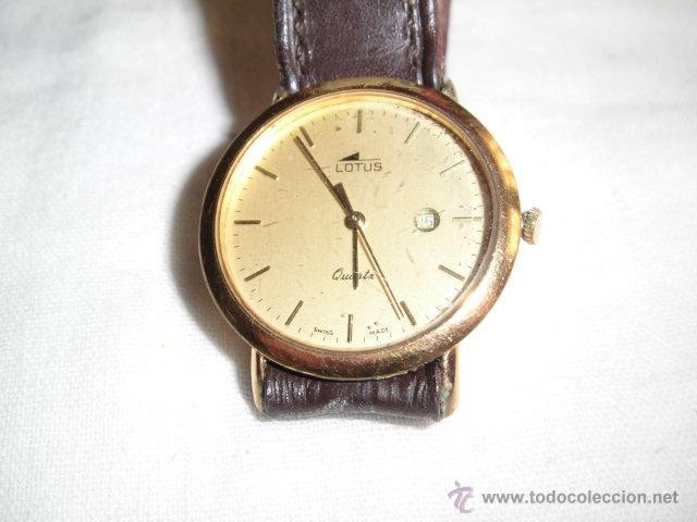 Relojes - Lotus: RELOJ LOTUS DE CUARZO CON CALENDARIO PARA PIEZAS NO FUNCIONA - Foto 3 - 48198178
