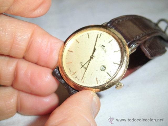 Relojes - Lotus: RELOJ LOTUS DE CUARZO CON CALENDARIO PARA PIEZAS NO FUNCIONA - Foto 5 - 48198178