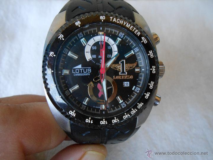 Subasta Especial Reloj Vendido Chronograph Edición En Lorenz Lotus Y6vbf7yg