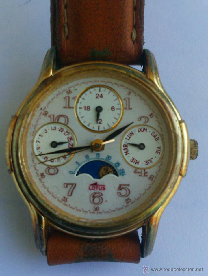 8f637b828189 Lotus ref 9278   reloj pulsera vintage (cristal - Vendido en Subasta ...