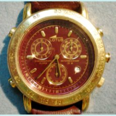 Relojes - Lotus: RELOJ LOTUS 9485-J. CALENDARIO,CRONOMETRO,ALARMA,SECUNDERO, ANTI -AGUA ETC. A PILA. DIÁMETRO 4 CM.. Lote 51807181