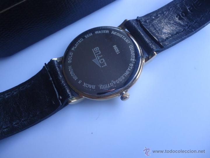 Relojes - Lotus: Reloj antiguo Lotus clásico - Foto 4 - 52552064