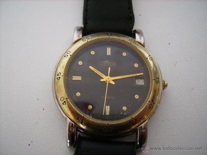 Relojes - Lotus: **ANTIGUO RELOJ-----LOTUS--- NO FUNCIONA, PUEDE QUE LE FALTE PILA** (3,5 cm) - Foto 2 - 209927965