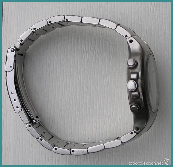 Relojes - Lotus: Reloj Quartz LOTUS...mod DEPOSE...alarma cronógrafo...water resistant 100M, a reparar - Foto 4 - 56154665