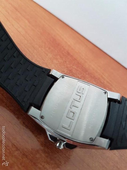 Relojes - Lotus: Reloj de caballero Lotus de cuarzo con calendario a las 6 horas 100m/330FT, con correa de silicona - Foto 7 - 59785908