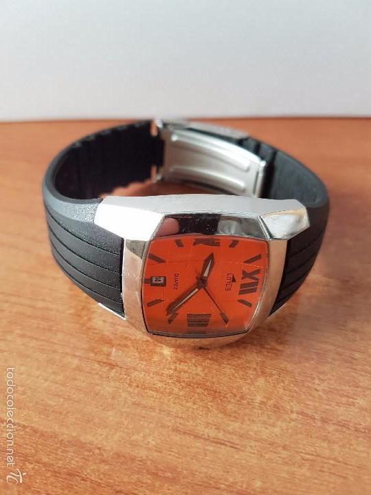 Relojes - Lotus: Reloj de caballero Lotus de cuarzo con calendario a las 6 horas 100m/330FT, con correa de silicona - Foto 8 - 59785908