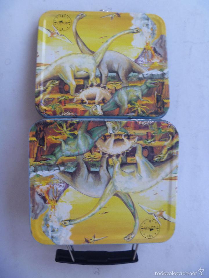 Relojes - Lotus: CAJA DE METAL DE RELOJ LOTUS , SUPONGO QUE DE UN RELOJ INFANTIL - Foto 2 - 59937999