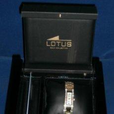 Relojes - Lotus: RELOJ LOTUS SEÑORA ORO Y DIAMANTES. ORO 18K Y 38 DIAMANTES. CERTIFICADO. NUEVO A ESTRENAR ¡¡OFERTA¡¡. Lote 61934280