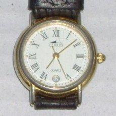 Relojes - Lotus: RELOJ DE PULSERA VINTAGE DE SEÑORA LOTUS CON CALENDARIO - MECANISMO ETA 956.114 3 ATM. Lote 62699800