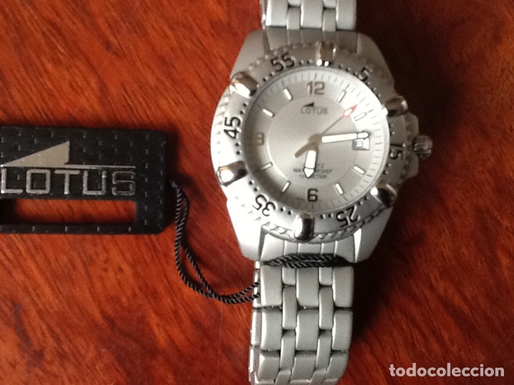 Relojes - Lotus: RELOJ LOTUS 15050 WATER RESISTANT 100 METER STAINLESS STEEL - Foto 4 - 69910547