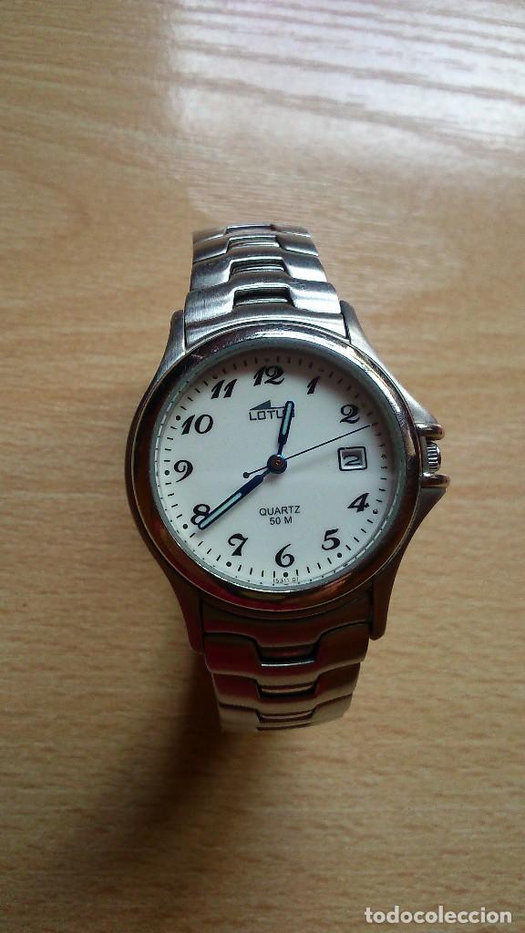 RELOJ DE PULSERA SRA LOTUS QUARTZ CORREA DE ACERO OPORTUNIDAD (Relojes - Relojes Actuales - Lotus)