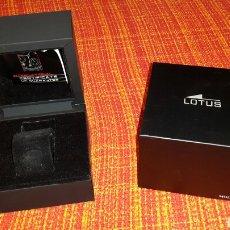 Relojes - Lotus: CAJA DE LUJO DE UN RELOJ LOTUS. Lote 79816006