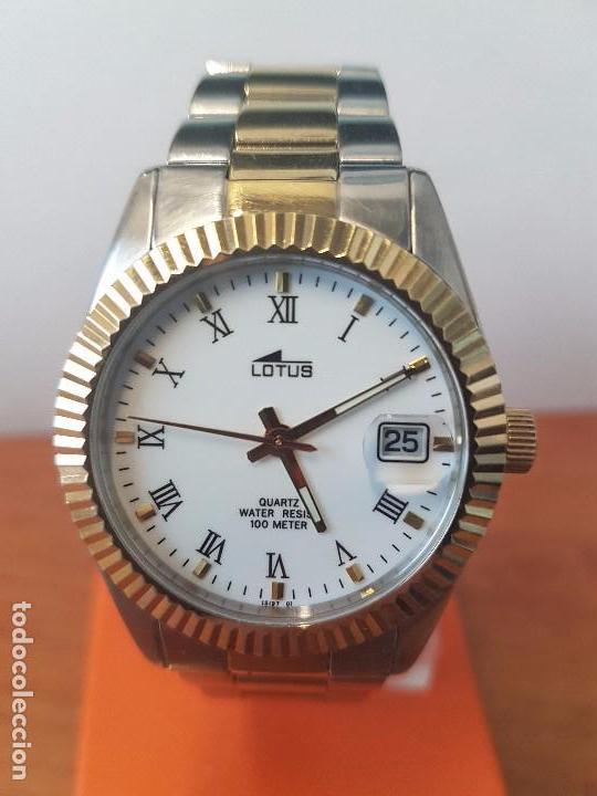6c3b20cfa17d Relojes - Lotus  Reloj de caballero de cuarzo marca LOTUS caja de acero con  bisel