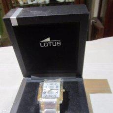 Relojes - Lotus: RELOJ LOTUS DE CABALLERO, CON SU ESTUCHE. SIN USO.. Lote 89643436