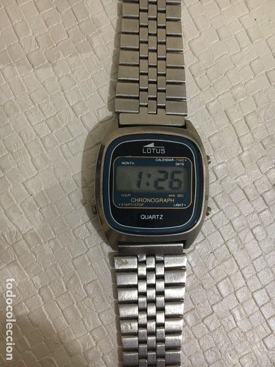 9983eb22704a Reloj lotus lcd digital vintage - Sold at Auction - 90680278