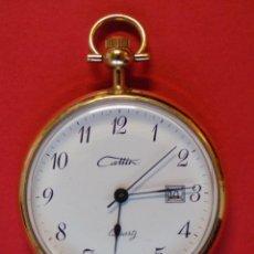 Relojes - Lotus: BONITO RELOJ DE BOLSILLO MARCA CAMIA O CAMIR - MADE IN FRANCE - ES DE QUARTZ - .. R -6451. Lote 90900560