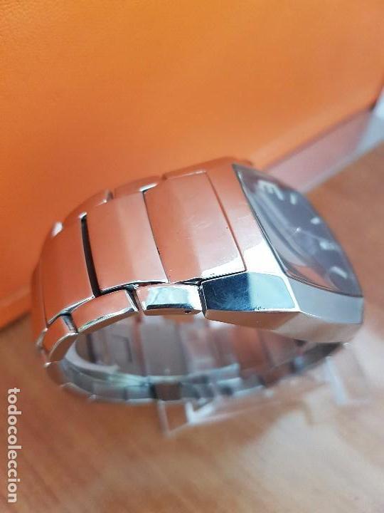 Relojes - Lotus: Reloj caballero de cuarzo LOTUS en acero con calendario a las seis horas, correa de acero original. - Foto 9 - 115488128