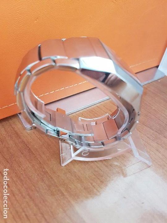 Relojes - Lotus: Reloj caballero de cuarzo LOTUS en acero con calendario a las seis horas, correa de acero original. - Foto 13 - 115488128