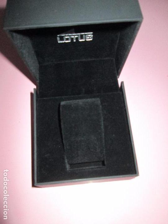 Relojes - Lotus: caja-reloj-lotus-nueva-completa-ver fotografías. - Foto 2 - 98810427