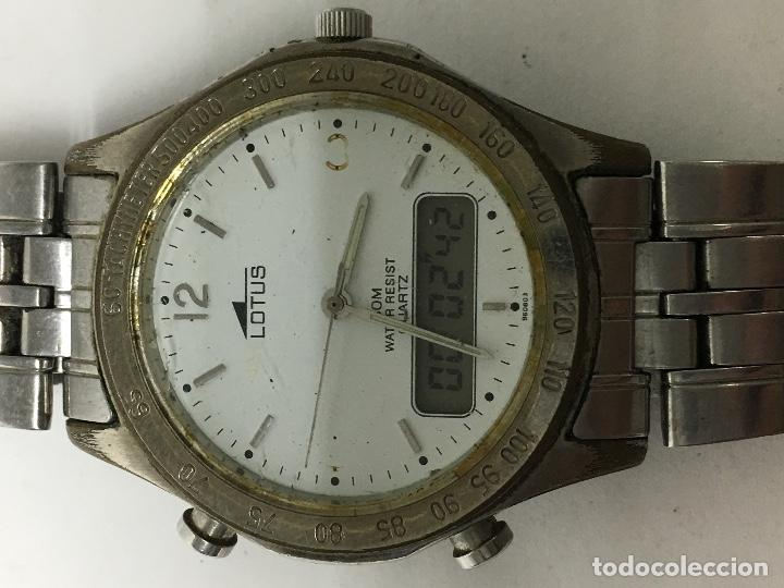 30bdb701f0d8 Reloj lotus analógico y digital vintage en func - Sold at Auction ...