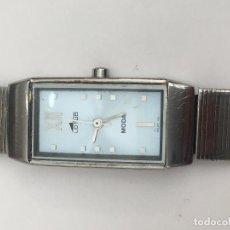 Relojes - Lotus: RELOJ LOTUS AÑOS 90 EN ACERO COMPLETO Y ESFERA AZUL. Lote 100209951