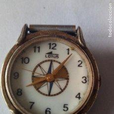 Relojes - Lotus: CURIOSO RELOJ LOTUS ROSA DE LOS VIENTOS SIN FUNCIONAR. Lote 102442927