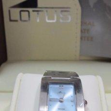 Relojes - Lotus: RELOJ LOTUS DE CUARZO - CON ESTUCHE. Lote 106936663