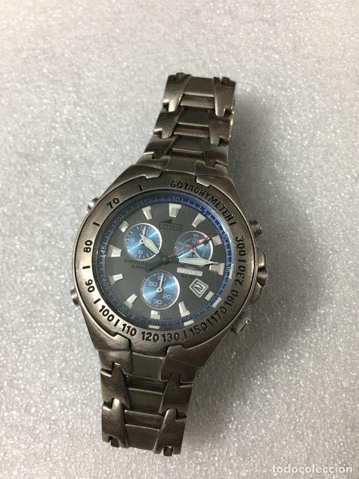 reloj lotus titanium multifuncional chronograf comprar