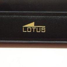 Relojes - Lotus: ESTUCHE LOTUS RELOJ AÑOS 80 CAJA NUEVA A ESTRENAR. IDEAL PARA GUARDAR RELOJES LOTUS.. Lote 107240311
