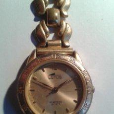 Relojes - Lotus: RELOJ DE MUJER DORADO LOTUS - 30 METERS QUARTZ. Lote 108385583
