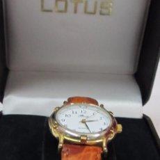 Relojes - Lotus: RELOJ DE SEÑORA LOTUS, CHAPADO EN ORO - CON ESTUCHE. Lote 109374319
