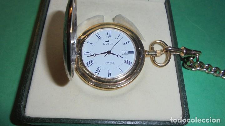 Relojes - Lotus: RELOJ DE BOLSILLO QUARTZ CON CAJA Y CADENA - - Foto 4 - 118792111