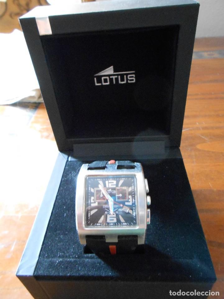 Relojes - Lotus: RELOJ LOTUS CHRONOGRAPH WR.50M. CON SU CAJA. - Foto 2 - 132342818