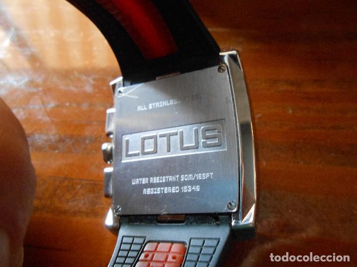Relojes - Lotus: RELOJ LOTUS CHRONOGRAPH WR.50M. CON SU CAJA. - Foto 8 - 132342818