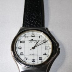 Relojes - Lotus: LOTUS 4-6-F7121,ALL ACERO, 35X36 M/M.MAQUINA FE. QUARTZ.PULSERA NUEVA.. Lote 123085171