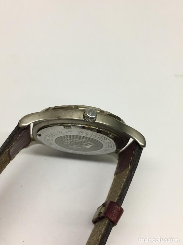 Relojes - Lotus: Reloj Lotus en acero con correa de piel 5Atm como nuevo - Foto 4 - 208579252