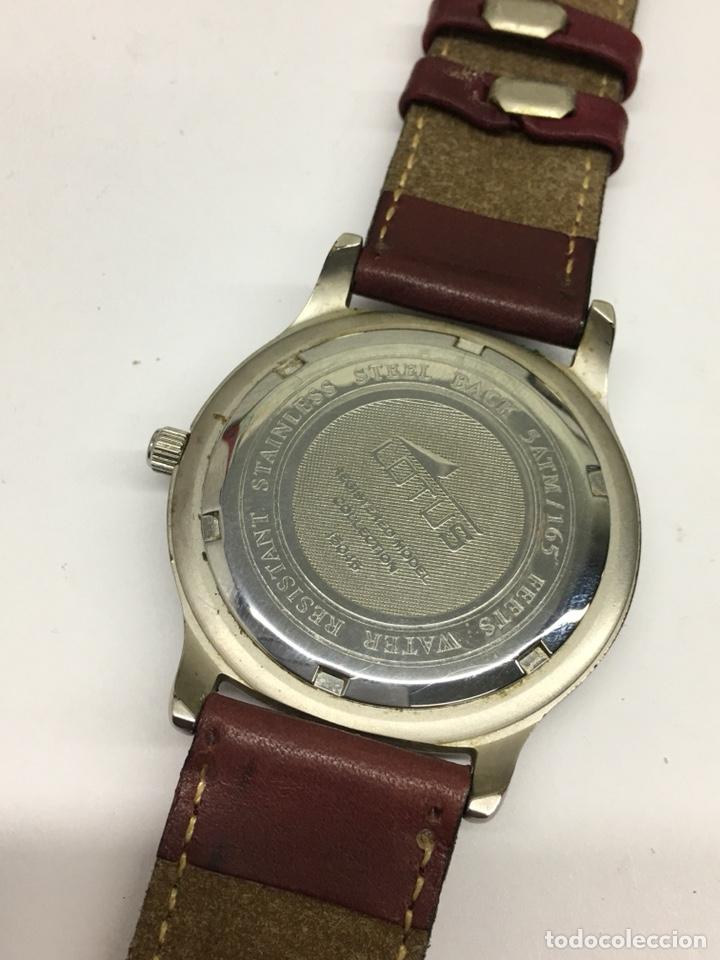 Relojes - Lotus: Reloj Lotus en acero con correa de piel 5Atm como nuevo - Foto 5 - 208579252