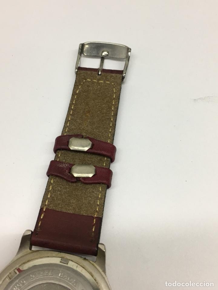 Relojes - Lotus: Reloj Lotus en acero con correa de piel 5Atm como nuevo - Foto 6 - 208579252