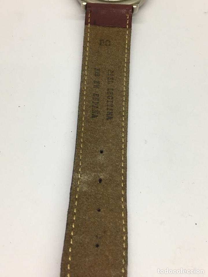 Relojes - Lotus: Reloj Lotus en acero con correa de piel 5Atm como nuevo - Foto 7 - 208579252