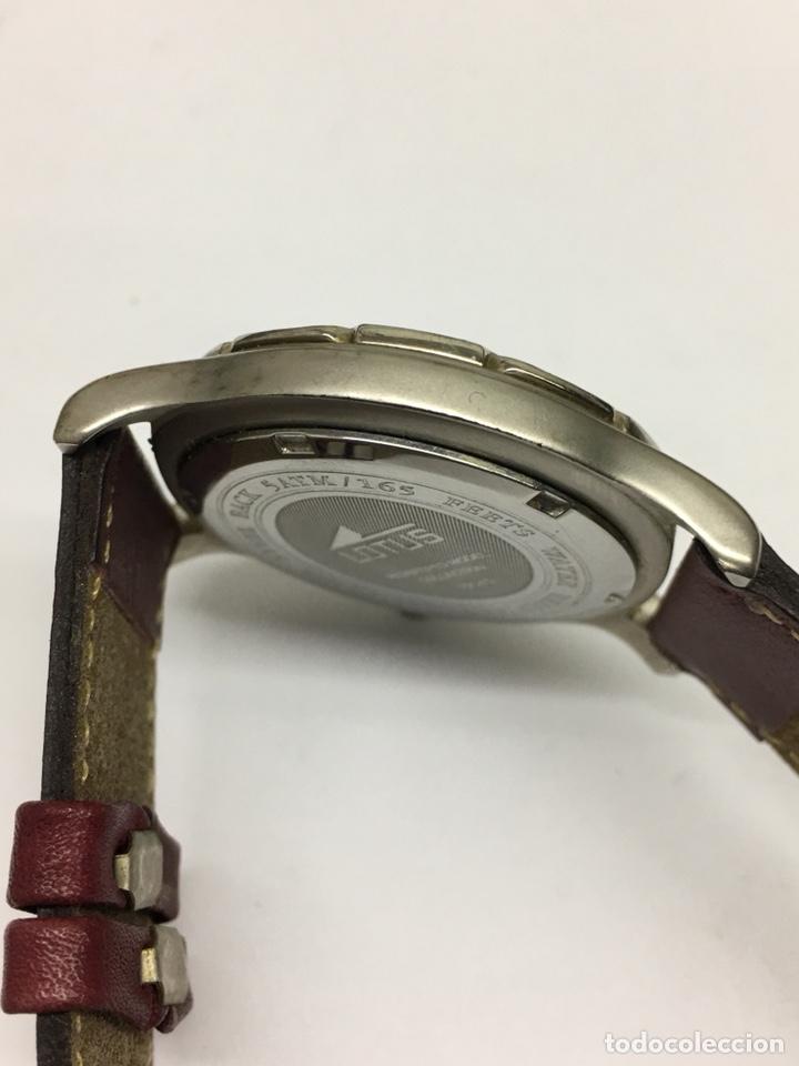 Relojes - Lotus: Reloj Lotus en acero con correa de piel 5Atm como nuevo - Foto 8 - 208579252